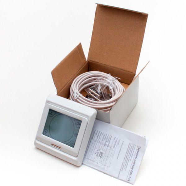 Терморегулятор настенный сенсорный E 91.716 (3.5 кВт)